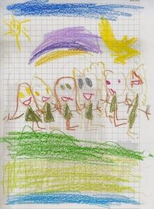 Amigas jugando, por la Estrella Menor (oct 2013)