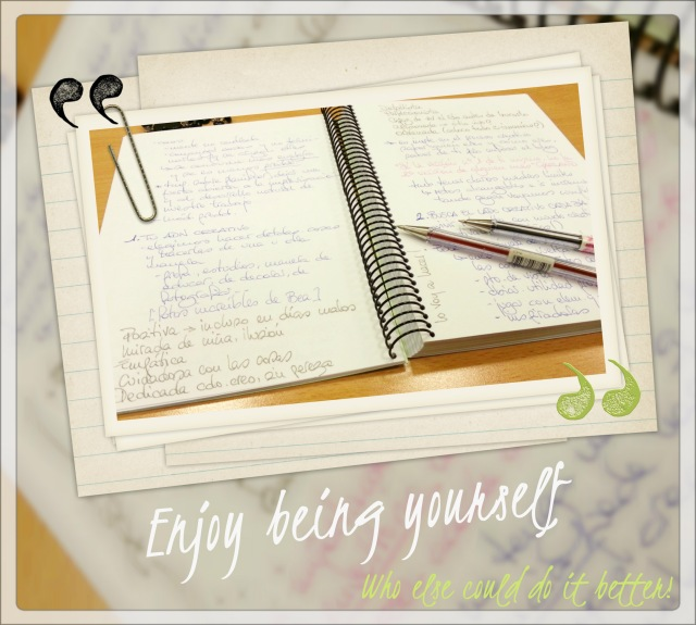 cuaderno de inspiración